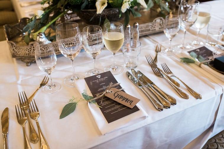 opdækning bryllupsbord