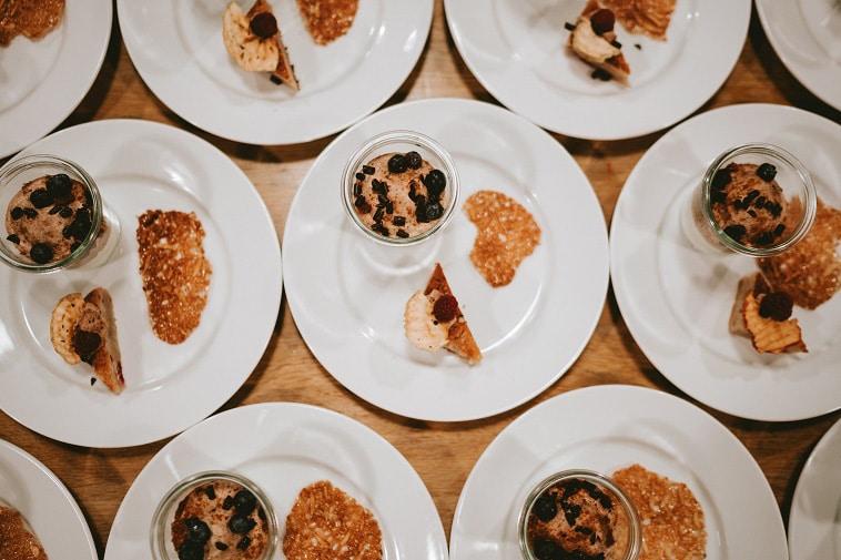 dessert tallerkener