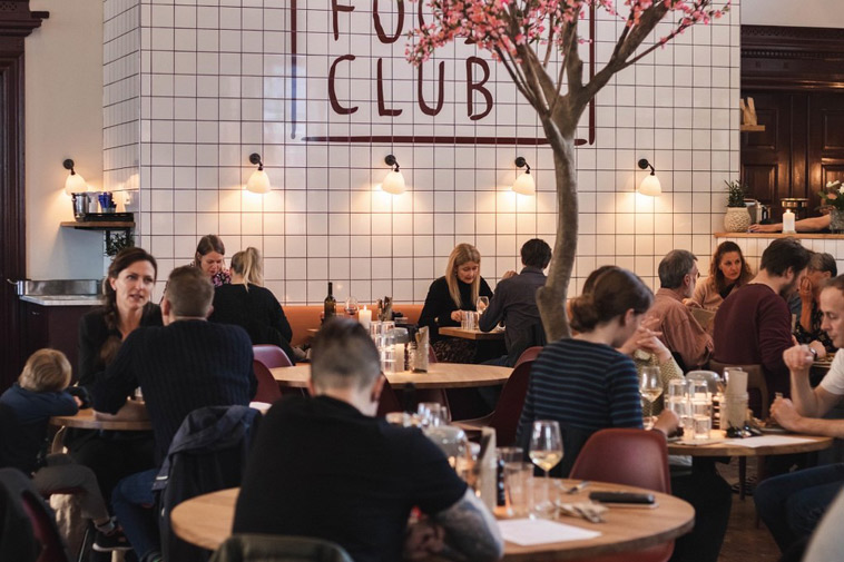Stemningsbillede fra Restaurant FOOD Club Århus