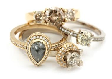 4 forskellige ringe
