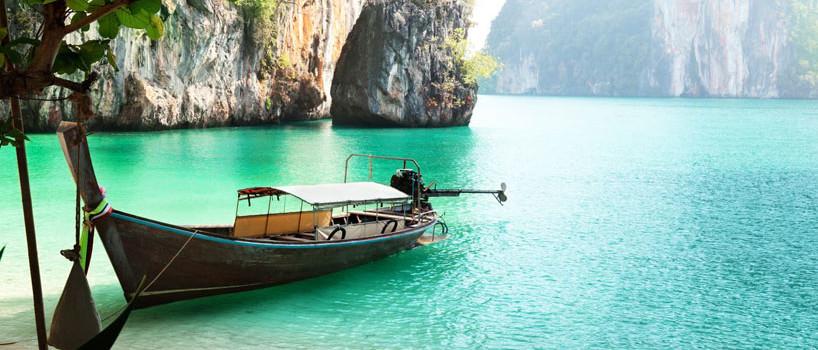 Bryllupsrejse til Thailand