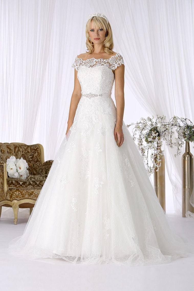 brudekjole prinsesse skørt