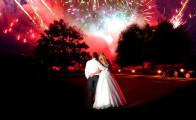 Vind fyrværkeri til brylluppet