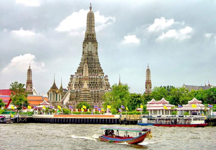 weat arum tempel bangkok